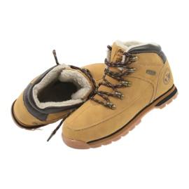 American Club Americké boty zimní boty 152619 velbloud vícebarevný 4