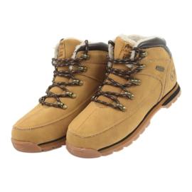 American Club Americké boty zimní boty 152619 velbloud vícebarevný 3