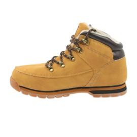 American Club Americké boty zimní boty 152619 velbloud vícebarevný 2