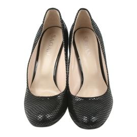 Černé boty Black Sagan 2600 černá 4