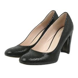 Černé boty Black Sagan 2600 černá 3