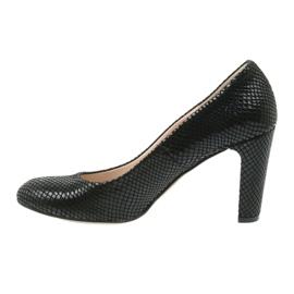 Černé boty Black Sagan 2600 černá 2