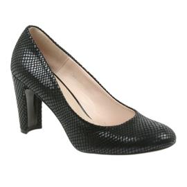 Černé boty Black Sagan 2600 černá 1