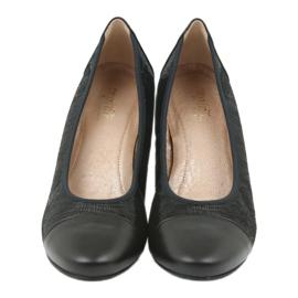 Espinto 535 černé podpatky černá 4