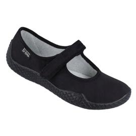 Befado dámské boty mladé 197D002 černá 1