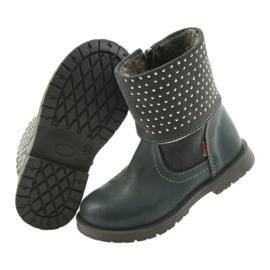 Dívčí boty Zarro 94/09 šedé trysky šedá 4