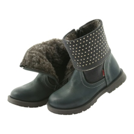 Dívčí boty Zarro 94/09 šedé trysky šedá 3