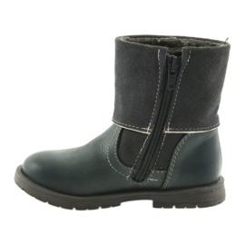 Dívčí boty Zarro 94/09 šedé trysky šedá 2