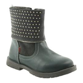 Dívčí boty Zarro 94/09 šedé trysky šedá 1