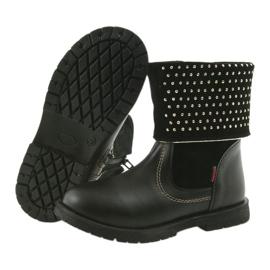 Dívčí boty Zarro 94/7 černé trysky černá 5