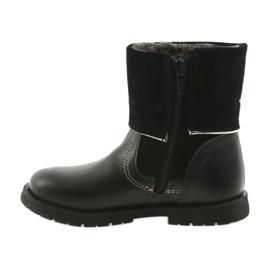 Dívčí boty Zarro 94/7 černé trysky černá 2