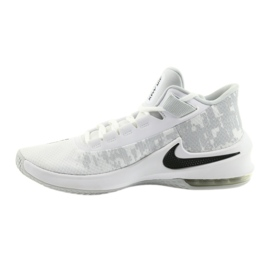 Basketbalová obuv Nike Air Max Infuriate 2 bílá bílá 1