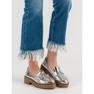 Corina šedá Lakované boty Loafers obrázek 1
