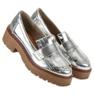 Corina šedá Lakované boty Loafers obrázek 5