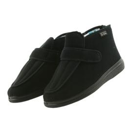 Befado pánské boty pu orto 987M002 černá 4