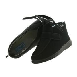 Befado pánské boty pu orto 987M002 černá 5