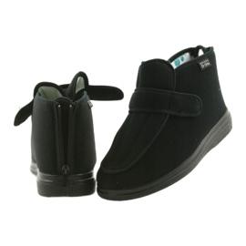 Befado pánské boty pu orto 987M002 černá 7