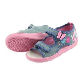 American Club Dětská obuv Pantofle Sandály Americká kožená vložka 37/19 4