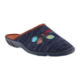 Befado barevné dámské boty pu 235D153 2
