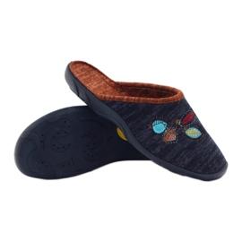 Befado barevné dámské boty pu 235D153 4