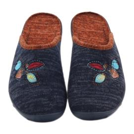 Befado barevné dámské boty pu 235D153 5