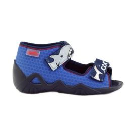 Befado dětské boty 250P069 modrý 1