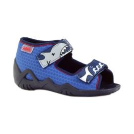 Befado dětské boty 250P069 modrý 2