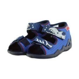 Befado dětské boty 250P069 modrý 4