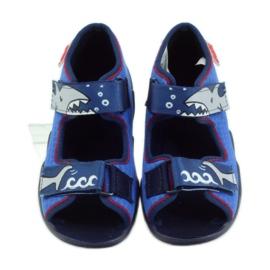 Befado dětské boty 250P069 modrý 5
