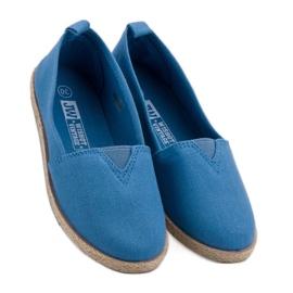 Dětské espadrilly modrý 1