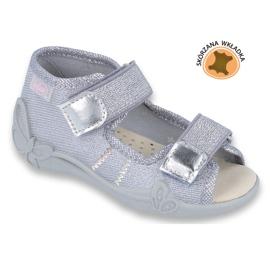 Befado žlutá dětská obuv 342P002 šedá 1