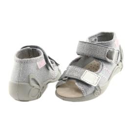 Befado žlutá dětská obuv 342P002 šedá 5