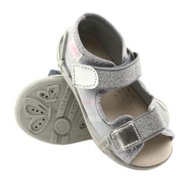 Befado žlutá dětská obuv 342P002 šedá 4