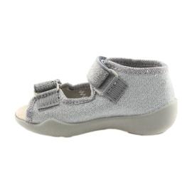 Befado žlutá dětská obuv 342P002 šedá 3