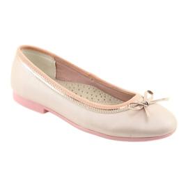 Baleríny s luční růžovou perlou American Club GC14 / 19 růžový zlato 1