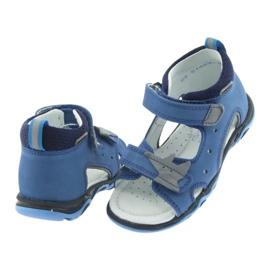 Sandály chlapecké řepky Bartek 51489 blue 4