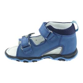 Sandály chlapecké řepky Bartek 51489 blue 2