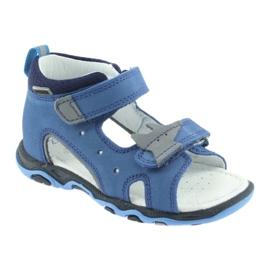Sandály chlapecké řepky Bartek 51489 blue 1