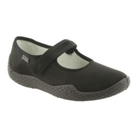 Befado dámské boty mladé 197D002 černá 2