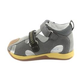 Sandály chlapecké čepice Bartek 81772 šedá 2