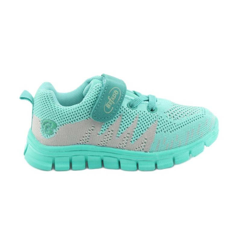 Zelená Befado dětské boty do 23 cm 516X026 obrázek 1