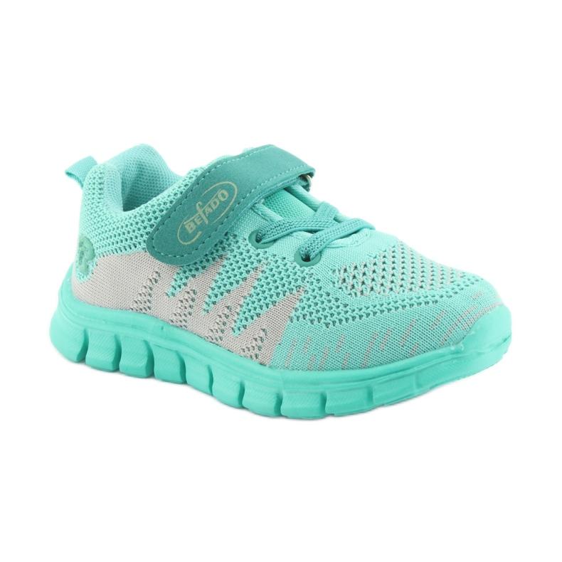 Zelená Befado dětské boty do 23 cm 516X026 obrázek 2