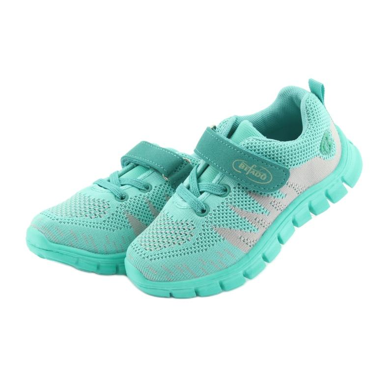 Zelená Befado dětské boty do 23 cm 516X026 obrázek 4