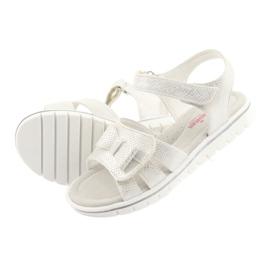 Sandály bílé perly American Club GC25 4