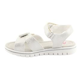 Sandály bílé perly American Club GC25 2