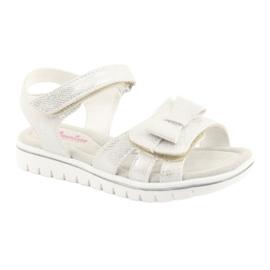 Sandály bílé perly American Club GC25 1