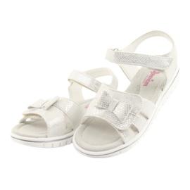 Sandály bílé perly American Club GC25 3