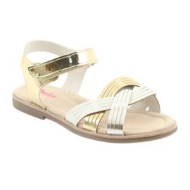 Sandály kovové holky American Club GC23 1