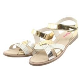 Sandály kovové holky American Club GC23 3