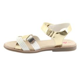Sandály kovové holky American Club GC23 2